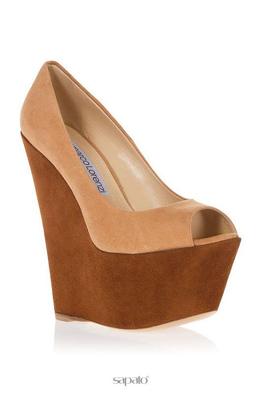 Туфли Gianmarco Lorenzi Туфли коричневые