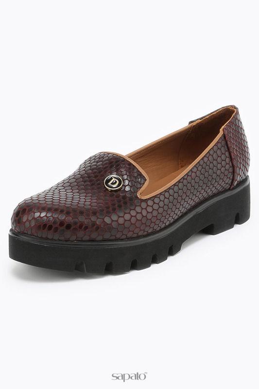 Туфли Donna Ricco Туфли коричневые