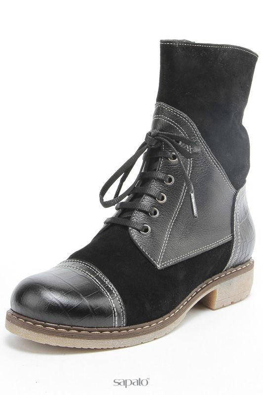 Ботинки Aquamarin Зимние ботинки чёрные