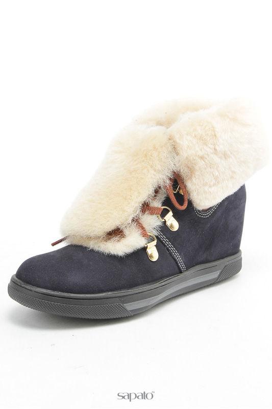 Ботинки Aquamarin Зимние ботинки синие