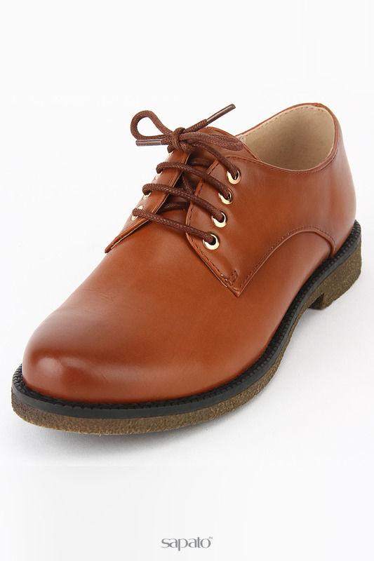 Ботинки MakFine Полуботинки оранжевые