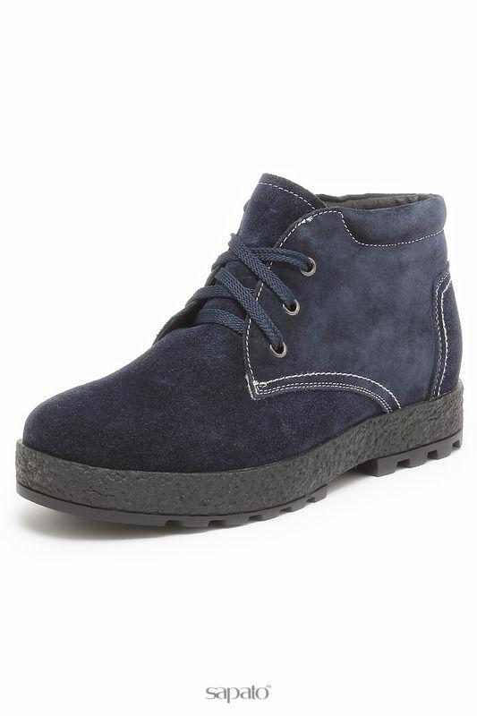 Ботинки MAKFLY Ботинки синие