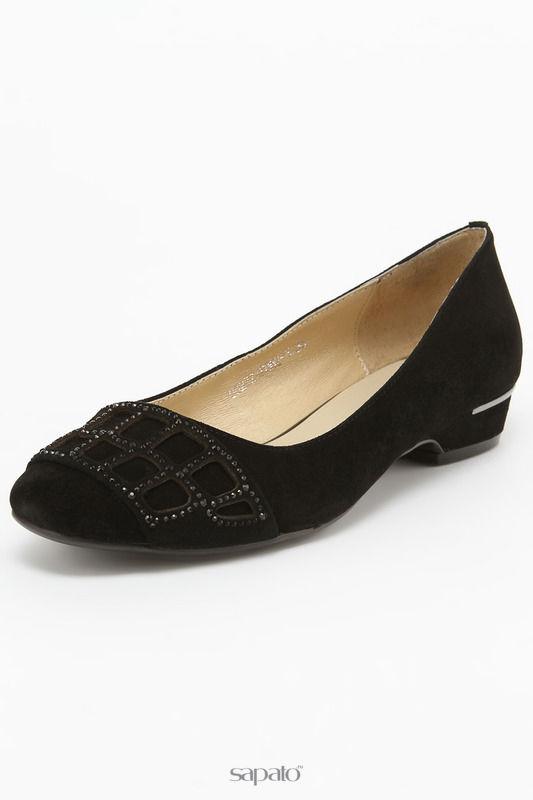 Туфли Zumita Балетки чёрные