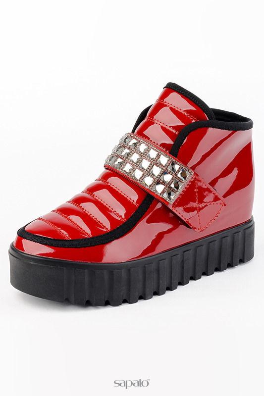 Ботинки MiSS MARTANI Ботинки красные
