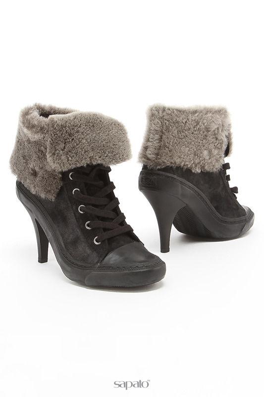 Ботинки Ash Ботинки чёрные