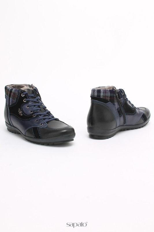 Ботинки SM SHOESMARKET Ботинки синие