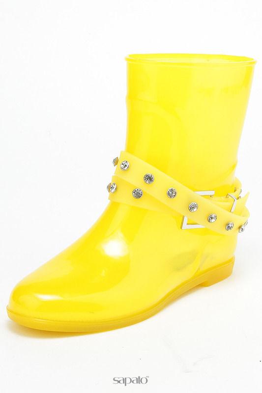 Сапоги Keddo Полусапоги жёлтые