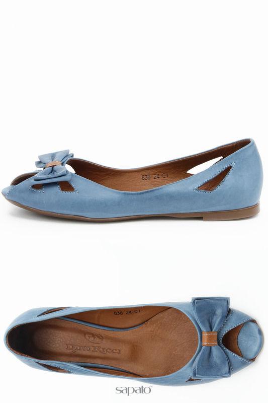 Балетки Dino Ricci Балетки синие