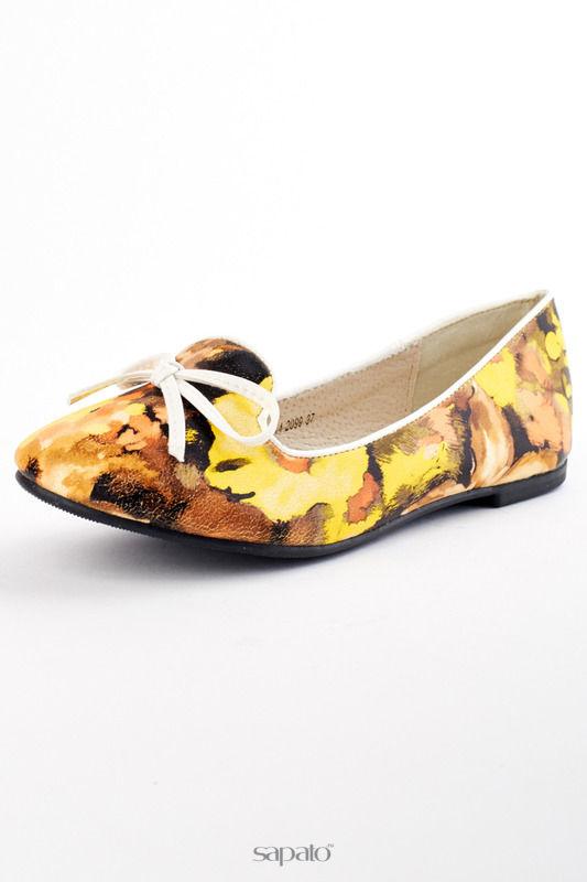 Балетки Itemblack Туфли жёлтые