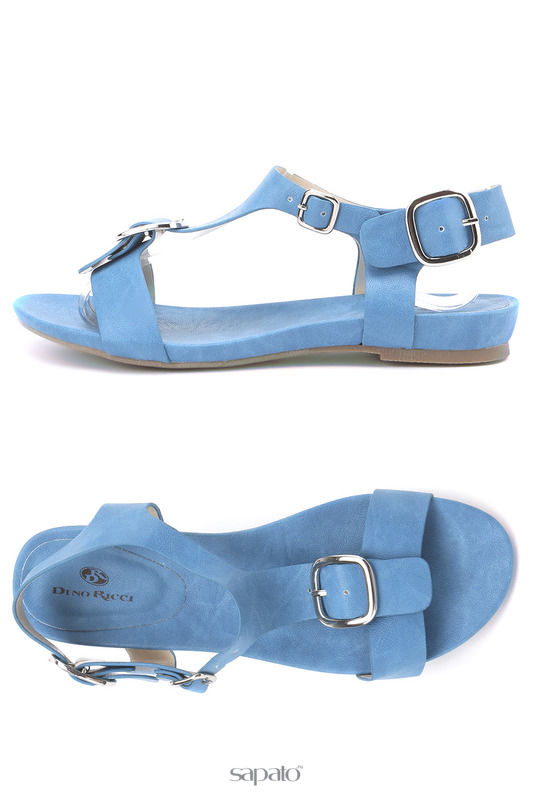 Сандалии Dino Ricci Босоножки голубые