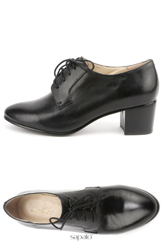 Ботинки Dino Ricci Полуботинки чёрные