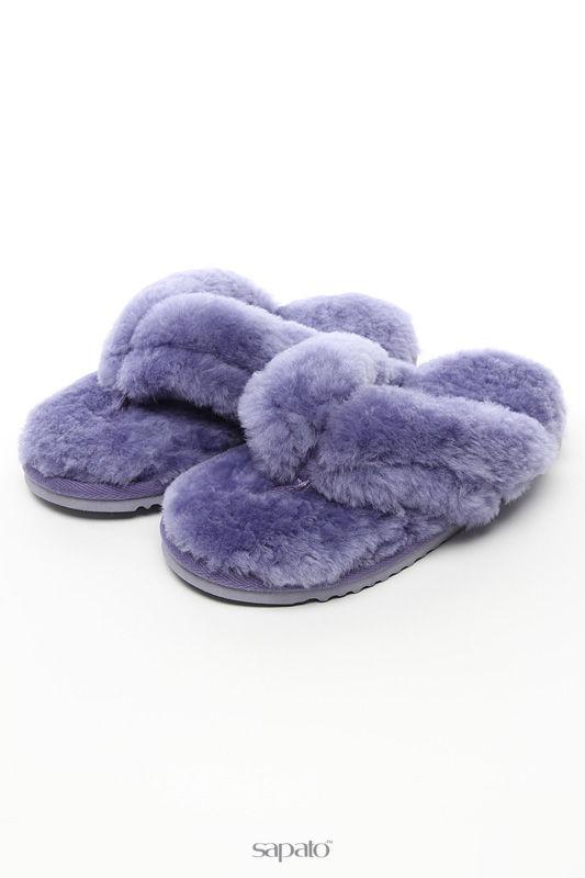 """Домашняя обувь Shepherd""""s Life Тапочки фиолетовые"""
