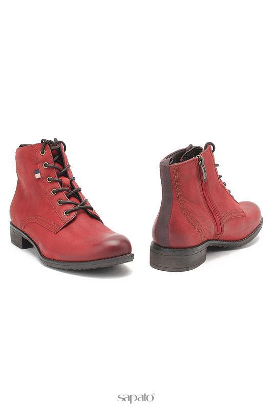 Ботинки Tamaris Ботинки красные