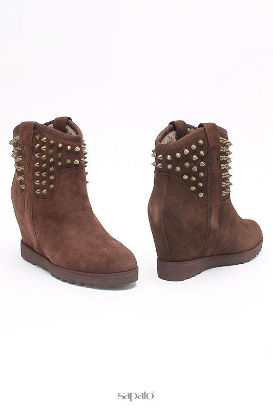 Ботинки Tervolina Ботинки коричневые