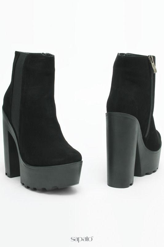 Ботинки SM SHOESMARKET Ботинки чёрные