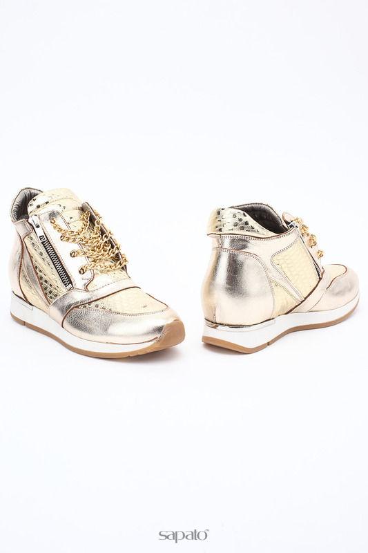 Ботинки SM SHOESMARKET Ботинки золотистые