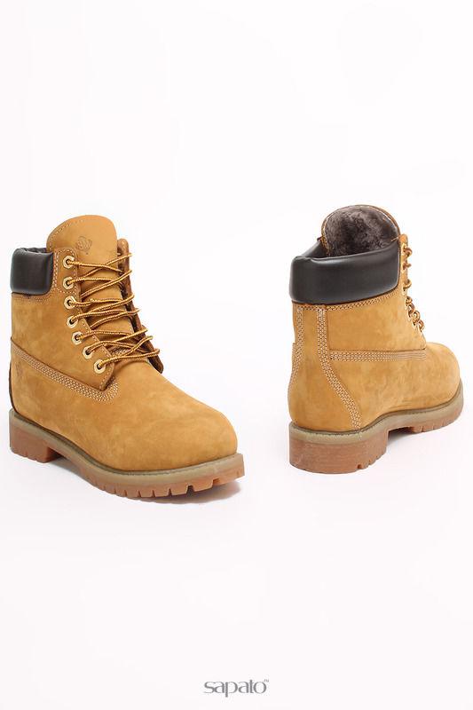 Ботинки SM SHOESMARKET Ботинки жёлтые