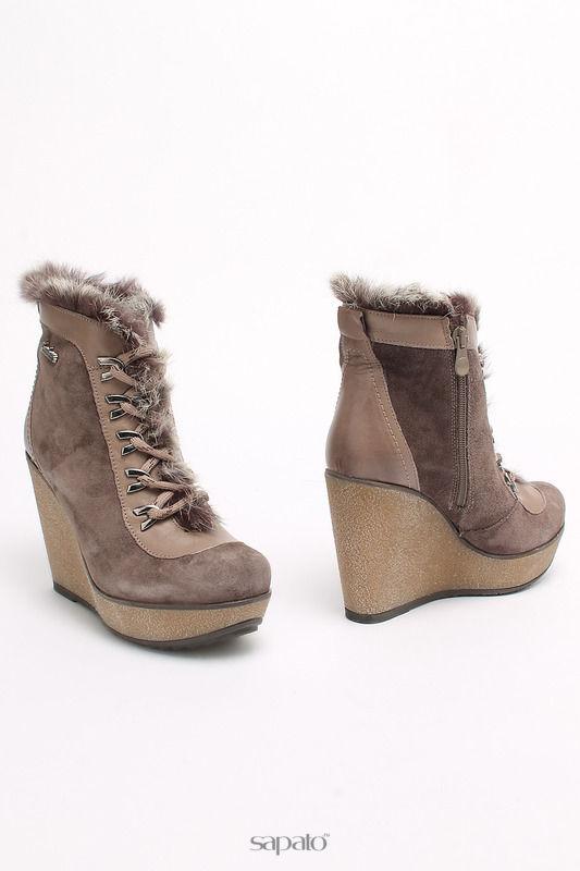 Ботинки SM SHOESMARKET Ботинки серые