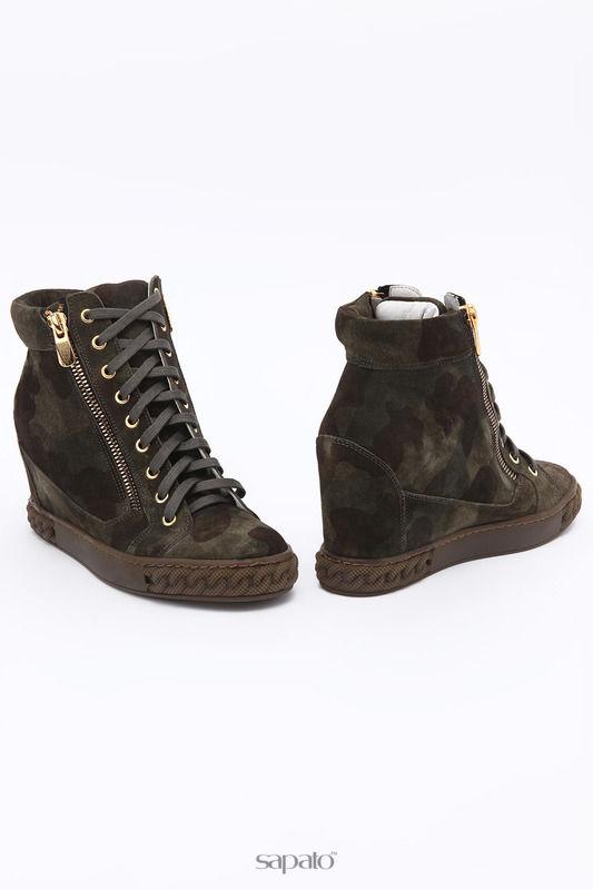 Ботинки SM SHOESMARKET Ботинки зеленые