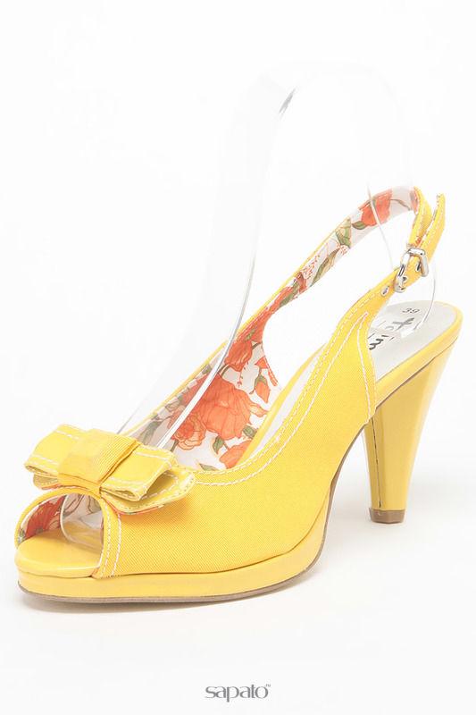Босоножки Tamaris Босоножки жёлтые