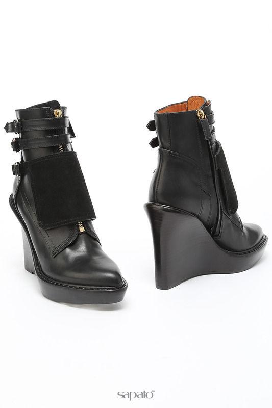 Сапоги Givenchy Полусапоги чёрные