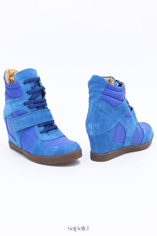 Ботинки SM SHOESMARKET Ботинки голубые