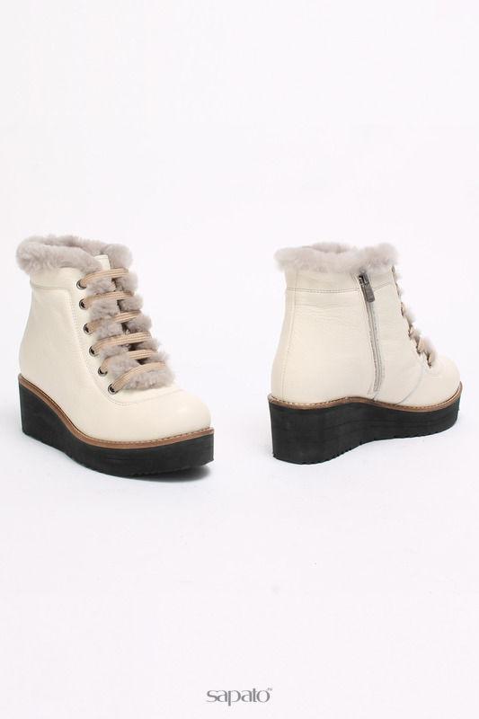 Ботинки SM SHOESMARKET Ботинки белые