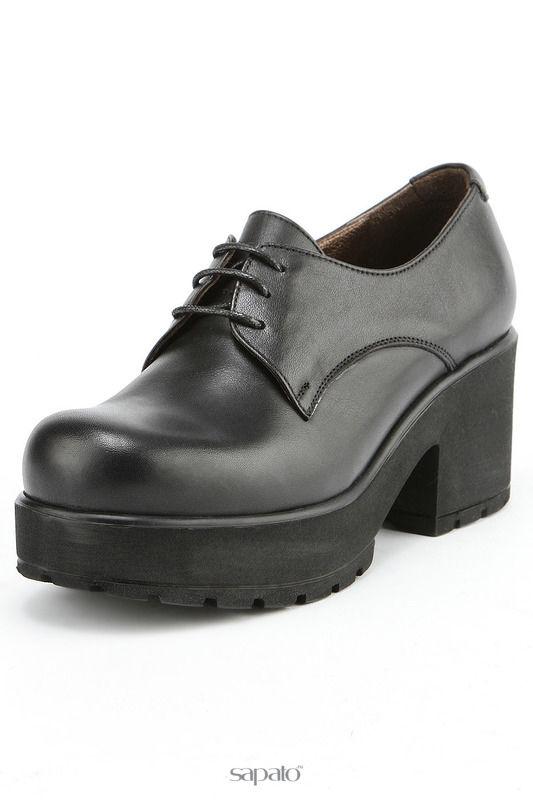 Ботинки RIDLRAVE Полуботинки чёрные