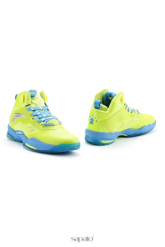 Кроссовки Anta Обувь для баскетбола зеленые