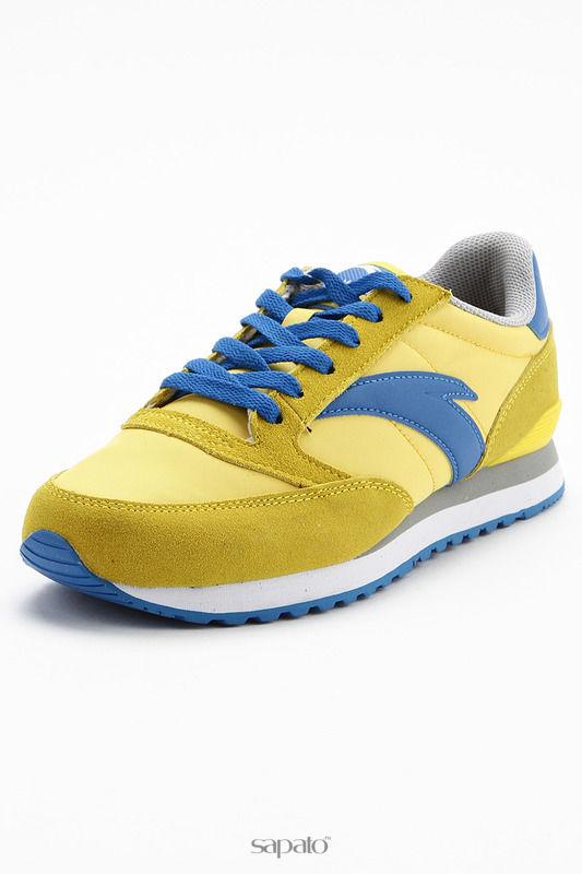 Кроссовки Anta Обувь повседневная жёлтые