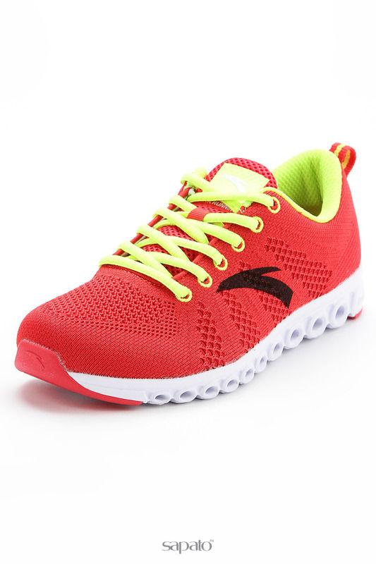 Кроссовки Anta Обувь для бега красные