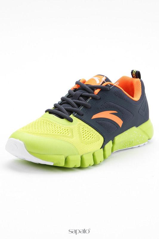 Кроссовки Anta Обувь для бега зеленые