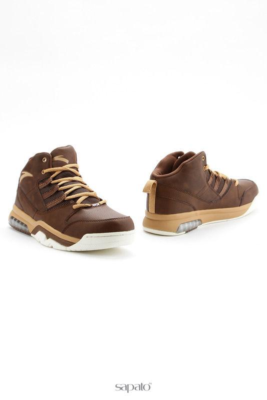 Кроссовки Anta Обувь для баскетбола коричневые