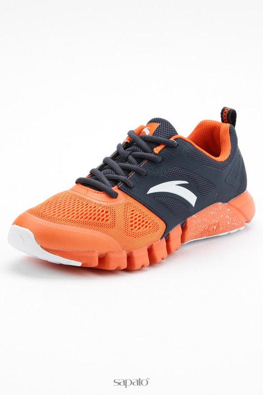 Кроссовки Anta Обувь для бега оранжевые