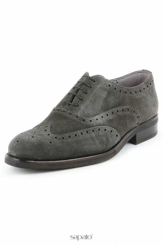 Туфли Michel Ботинки серые