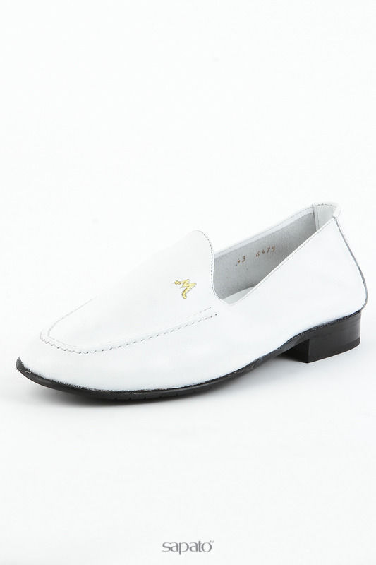 Туфли Michel Полуботинки белые