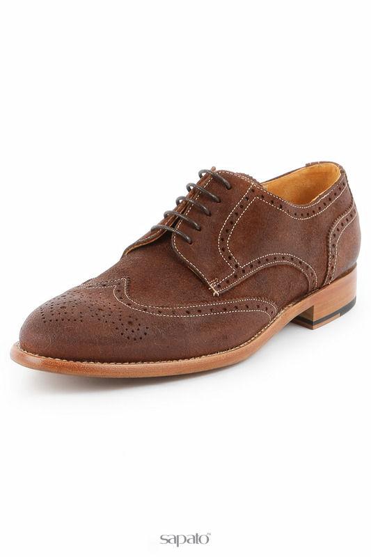 Ботинки Michel Полуботинки коричневые
