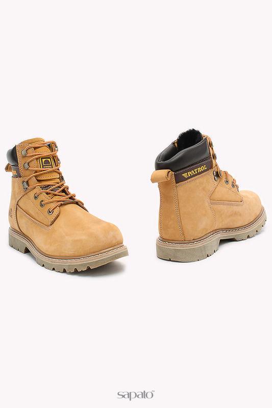 Ботинки Patrol Ботинки жёлтые