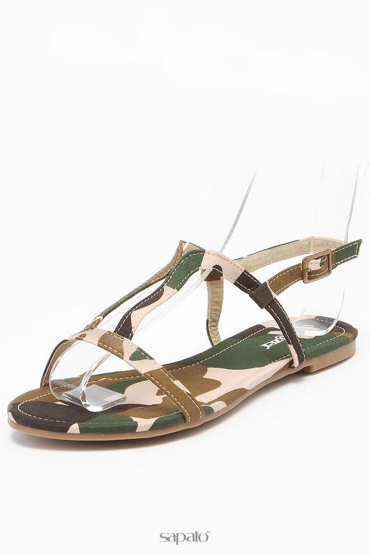 Сандалии Walzer Туфли открытые зеленые