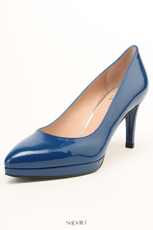 Туфли Stuart Weitzman Туфли синие