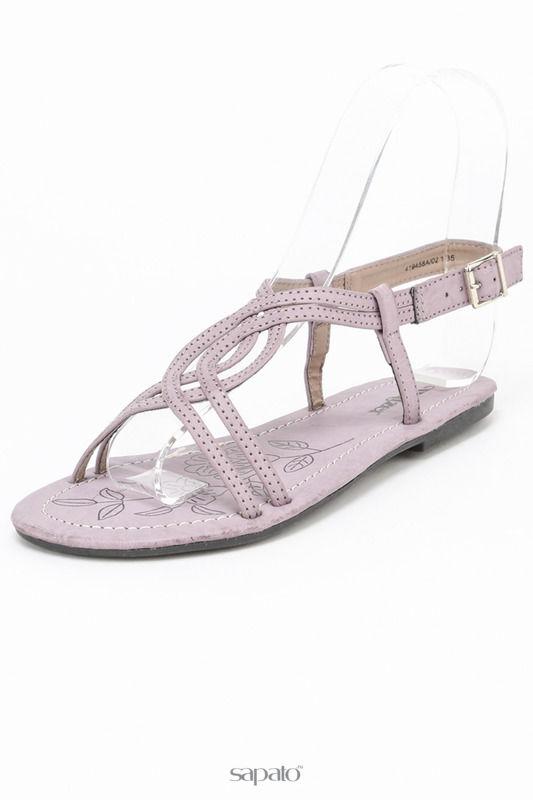 Сандалии Walzer Туфли открытые фиолетовые