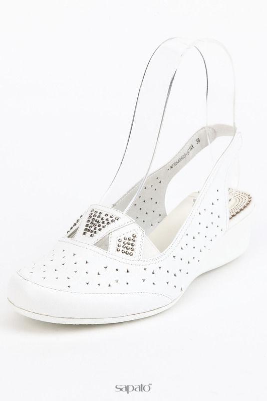 Босоножки AMATO Туфли белые