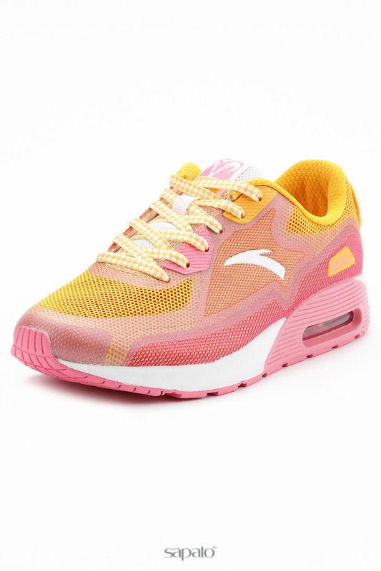 Кроссовки Anta Обувь для тренинга розовые
