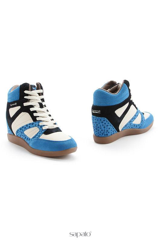 Кроссовки Sprandi Обувь повседневная голубые