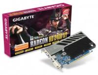 GIGABYTE Radeon HD 2400 XT 700Mhz PCI-E 256Mb 1600Mhz 64 bit DVI TV HDCP YPrPb
