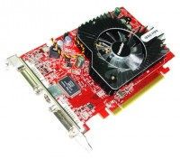 PowerColor Radeon X1650 Pro 600Mhz PCI-E 256Mb 1400Mhz 128 bit 2xDVI TV HDCP YPrPb