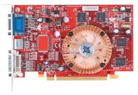 MSI Radeon X1300 450Mhz PCI-E 256Mb 500Mhz 128 bit DVI TV YPrPb