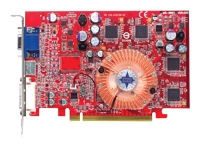 MSI Radeon X600 XT 500Mhz PCI-E 128Mb 740Mhz 128 bit DVI TV HDCP