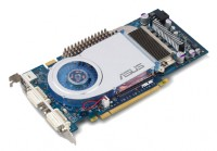 ASUS GeForce 6800 GT 350Mhz PCI-E 256Mb 1000Mhz 256 bit 2xDVI TV