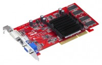 ASUS Radeon 9550 SE 250Mhz AGP 128Mb 400Mhz 64 bit DVI TV